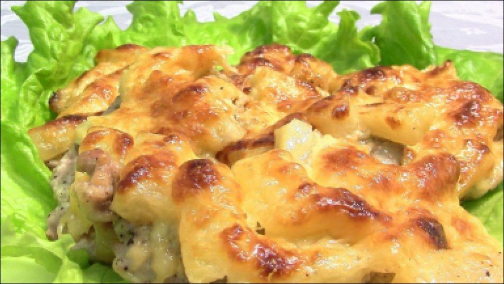 Картошка по-французски с мясом пошаговый рецепт
