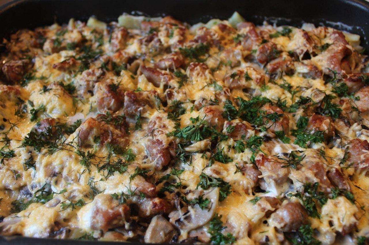 Рецепты из говядины с картошкой в духовке рецепт пошагово