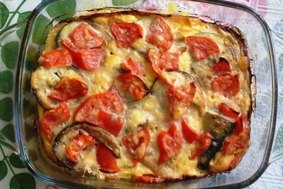 Рыба с помидорами в сметанной заливке