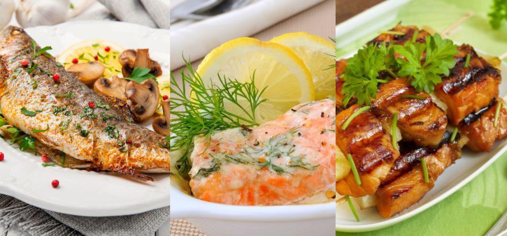 Блюда из рыбы, приготовленные в духовке