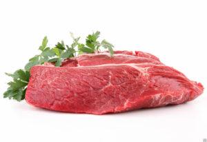 Цельной кусок говядины, петрушка