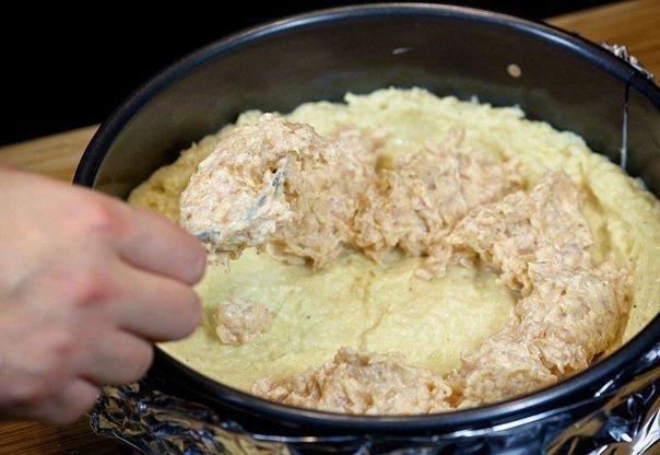 Подготовка к запеканию блюда