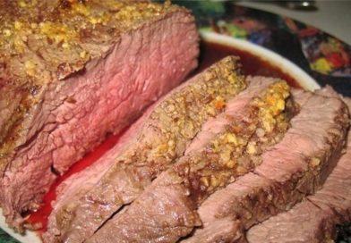 Все о том, как запечь куском говядину в фольге в духовке