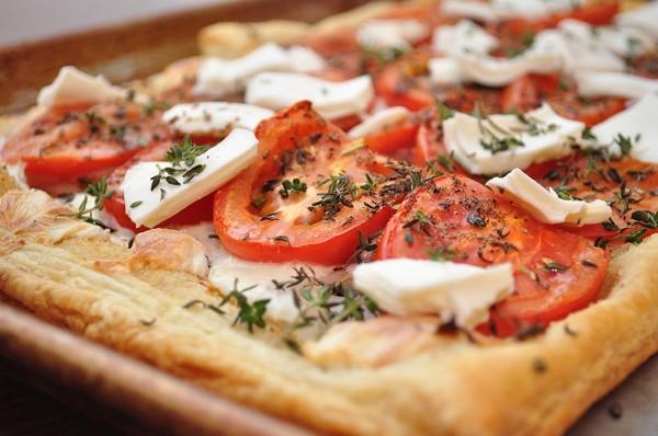 Второй этап запекания пиццы