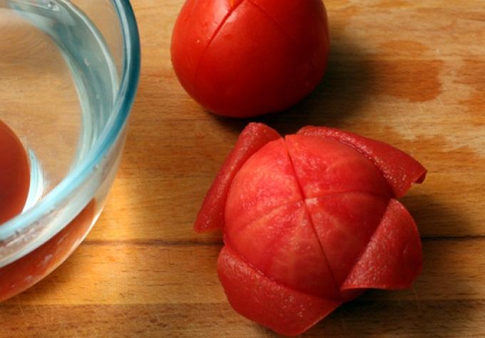 Бланшированные томаты