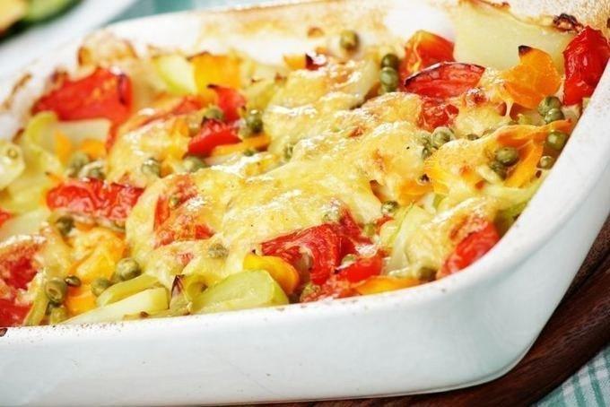 Овощная запеканка в духовке