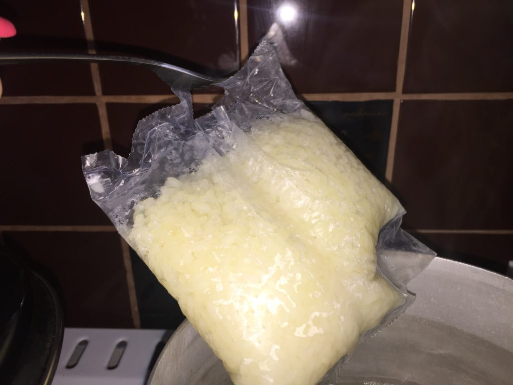 Пакет отваренного риса