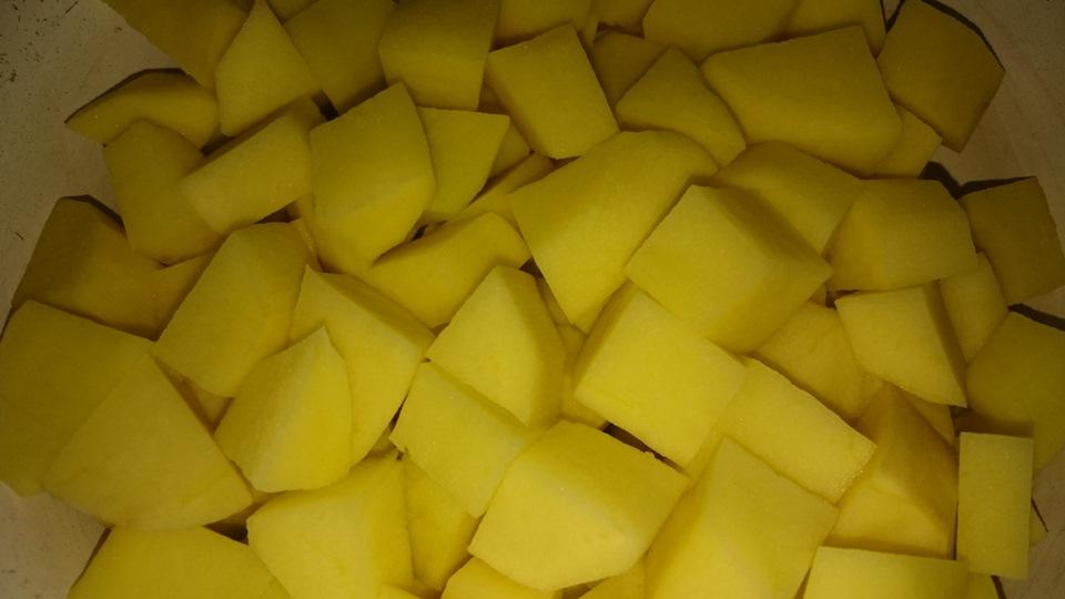 Способ нарезки картошки