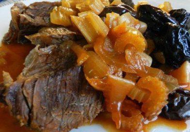говядина в духовке в фольге с черносливом