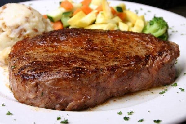 стейк в духовке из говядины в фольге